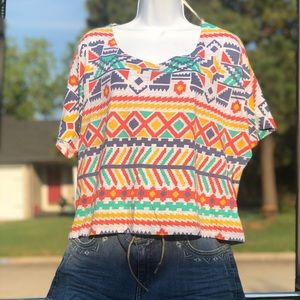Forever 21 fun crop top! Size small